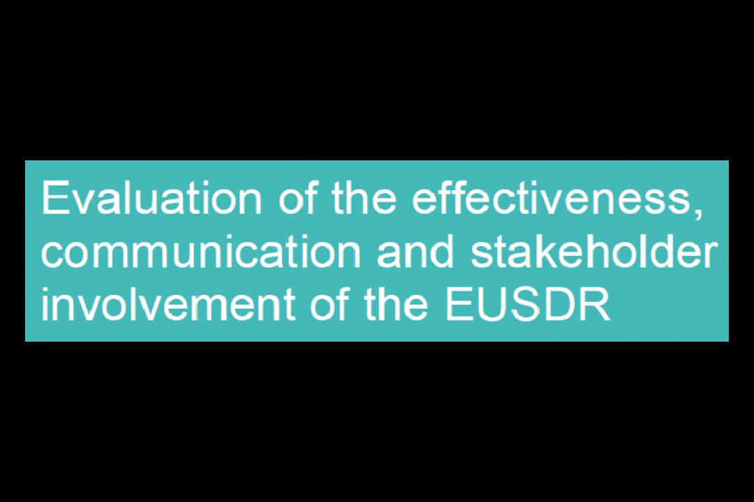 EUSDR Operational Evaluation Report 2019 finalized